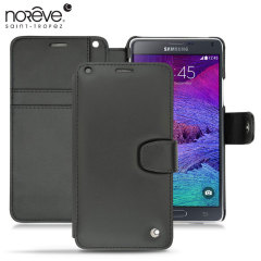Housse cuir Samsung Galaxy Note 4 Norêve Tradition B - Noire