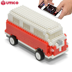 UTICO App kontrollierter Camper Van für iOS and Android in Rot