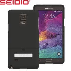 Seidio SURFACE Samsung Galaxy Note 4 Case with Metal Kickstand - Black