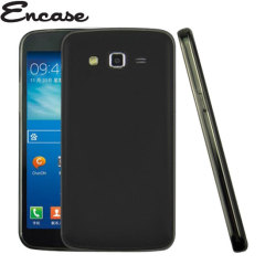 Crystal case-like protection with the durability of a silicone case for the Samsung Galaxy Grand 2 in black.
