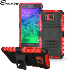 Encase ArmourDillo Galaxy Alpha Hülle in Rot