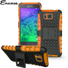Encase ArmourDillo Galaxy Alpha Hülle in Orange