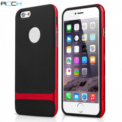 ROCK Royce iPhone 6S Plus / 6 Plus Hybrid Case - Red