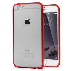 ROCK Arc Slim Guard iPhone 6 Aluminium Bumper Case Hülle in Rot