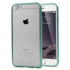 ROCK Arc Slim Guard iPhone 6 Aluminium Bumper Case Hülle in Blau