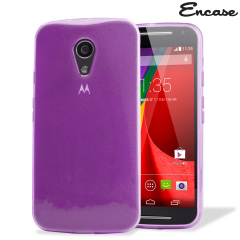 Funda Moto G 2014 FlexiShield - Morada