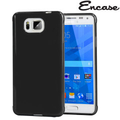 Encase FlexiShield Case Galaxy Alpha Hülle in Schwarz