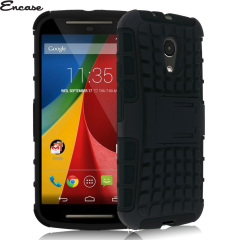 Funda Motorola Moto G 2014 Encase ArmourDillo Protective - Negra