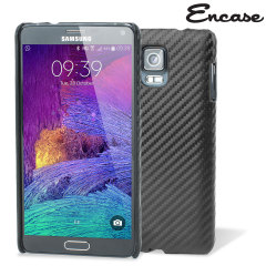 Encase Carbon Fibre-Style Samsung Galaxy Note 4 Case - Black