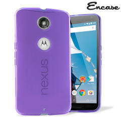 Encase FlexiShield Google Nexus 6 Case - Purple