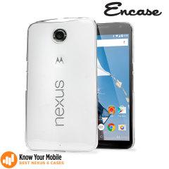 Custodia in policarbonato Encase per Google Nexus 6 - 100% Trasparente