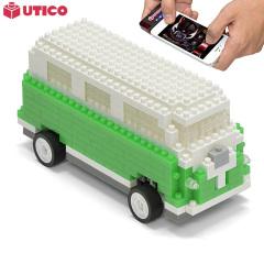 UTICO App kontrollierter Camper Van für iOS and Android in Grün