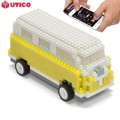 Caravana UTICO controlada por App para iOS y Android - Amarilla