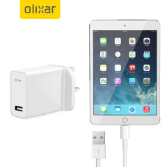 Charge your Apple iPad Mini 3 quickly and conveniently with this compatible 2.5A high power charging kit. Featuring mains adapter with Lightning connection cable. It's also fully compatible with iOS 7 and later, so no annoying warnings.