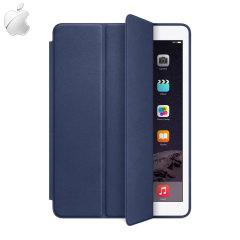 Apple Leather Smart Case voor iPad Air 2 - Blauw