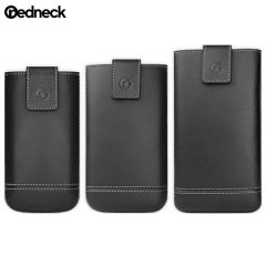 Redneck Genuine Leather Universal Smartphone Pouch XXL - Black
