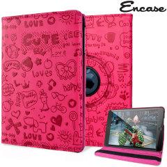 Housse iPad Mini 3 / 2 / 1 Encase simili cuir – Rose