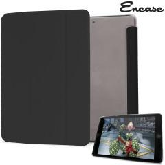 Encase Transparent iPad Mini 3 / 2 / 1 Folding Stand Case - Black
