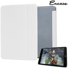 Encase Transparent iPad Mini 3 / 2 / 1 Folding Stand Case in Weiß