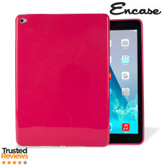 This hot pink FlexiShield from Encase for the iPad Air 2 provides crystal case like protection with the durability of a silicone case.