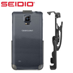 Coque Samsung Galaxy Note 4 Spring Clip Holster Seidio - Noire