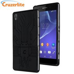 Cruzerlite Bugdroid Circuit Sony Xperia Z3 etui - czarny