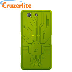 Keep your Sony Xperia Z3 Compact protected from damage with this Android-circuitry inspired, durable green coloured TPU case by Cruzerlite.