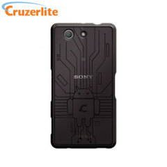 Cruzerlite Bugdroid Circuit Sony Xperia Z3 Compact Deksel - Røyksort