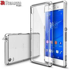 Bescherm de achterkant en zijkanten van je Sony Xperia Z3 Bumper Case met deze ontzettend duurzame en kristalheldere Fusion Case van Ringke.