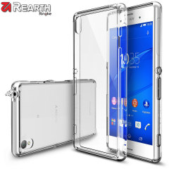 Rearth Ringke Fusion Case voor Sony Xperia Z3 Bumper Case - Transparant