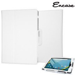 Housse Google Nexus 9 Encase Stand and Type – Blanche