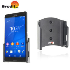 Use your Sony Xperia Z3 Compact safely in your vehicle with this small, neat and discreet Brodit Passive holder, complete with tilt swivel. Also compatible with the Z1 Compact.