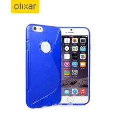 Olixar FlexiShield iPhone 6S / 6 Case - Blue