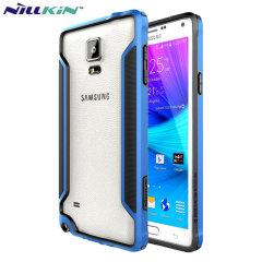 Nillkin Armor Border Samsung Galaxy Note 4 Bumper Case - Blue