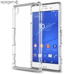 Spigen Sony Xperia Z3 Ultra Hybrid Case - Crystal Clear