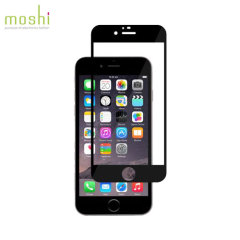 Moshi iVisor iPhone 6S Plus / 6 Plus Glas Displayschutz in Schwarz