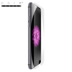 El primer protector de pantalla de cristal templado con las esquinas curvas para proteger el 100% de la pantalla de su iPhone 6s Plus / 6 Plus.