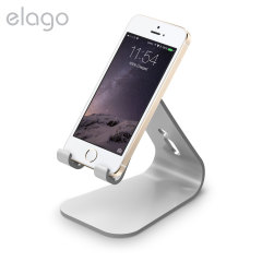 Elago M2 Aluminium-Style Universal Smartphone Desk Stand - Silver