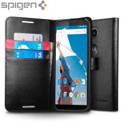 Spigen Google Nexus 6 Wallet S Case - Black