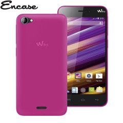 Custodia Encase FlexiShield per Wiko Jimmy - Rosa