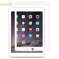Protection d'écran iPad Air 2 Moshi iVisor XT - Blanche