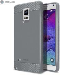 Obliq Flex Pro Samsung Galaxy Note 4 Case - Grey