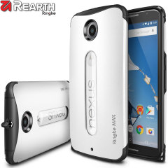 Funda Nexus 6 Rearth Ringke MAX Heavy Duty - Blanca
