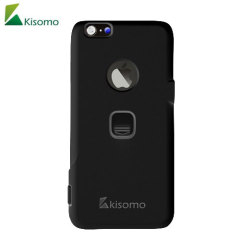 The iSelf iPhone 6S / 6 selfie case in black from Kisomo allows you to capture photos your way. Integrated into this protective polycarbonate shell are two intuitively designed camera shutter buttons which let you take photos like never before.