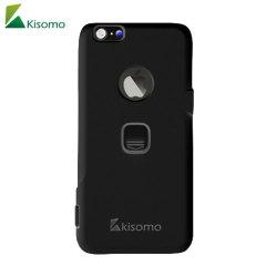 Die iSelf iPhone 6S Plus / 6 Plus Selfie Hülle in Schwarz von Kisomo bietet Ihnen die Möglichkeit Fotos auf Ihre eigene Weise festzuhaltem. Diese Polycarbonatschale hat nämlich zwei intuitive Kameraauslöser Tasten, die Sie Fotos machen lässt wie nie zuvor.