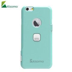 De iSelf iPhone 6S Plus / 6 Plus selfie case van Kisomo heeft je de mogelijkheid om je foto's vastleggen op de manier waarop jij dat wilt. Met een Geïntegreerde behuizing van polycarbonaat zijn er twee intuïtief ontworpen sluiters die je camara knoppen foto's laat nemen als nooit tevoren