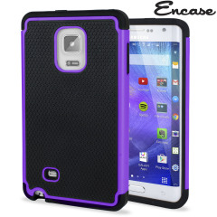 Protect your Samsung Galaxy Note Edge from bumps and scrapes with this purple tough case. Comprised of an inner TPU case and an outer impact-resistant exoskeleton, this case provides robust protection and supreme styling.