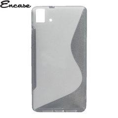 Encase FlexiShield BQ Aquaris E5 4G Case - Frost White