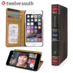 Twelve South BookBook iPhone 6S / 6 Leather Wallet Case - Brown