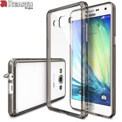 Custodia Rearth Ringke Fusion per Samsung Galaxy A3 - Nero fumé